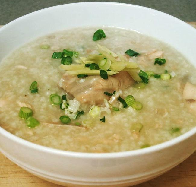 soupe de riz