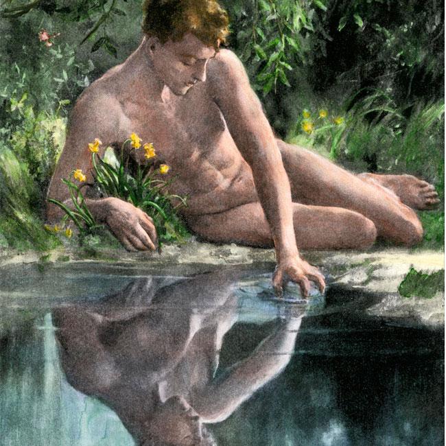 Luc Bigé – Le mythe de Narcisse
